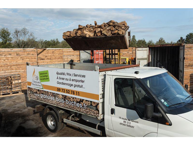 Vente bois chauffage Lyon par Granulés Bois Buches # Bois De Chauffage Ouest Lyonnais